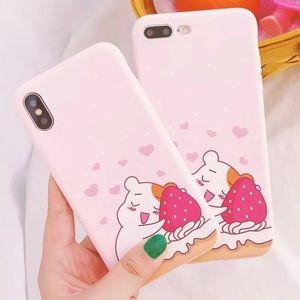 Cute Strawberry Bear IPhone X/XS Case